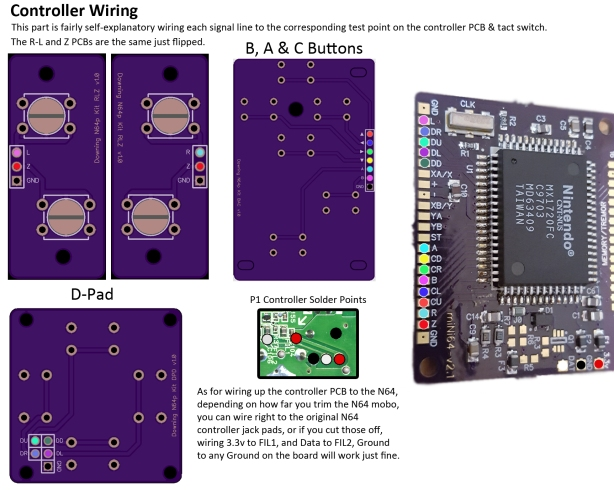 Dpad & ABCbutton Wiring1