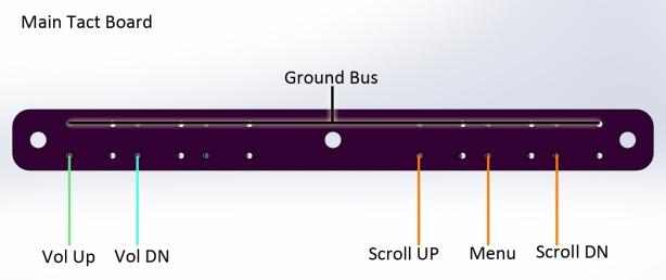 N64 Kit - Tact Board wiring