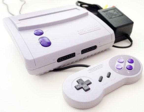 The SNES Box Go: Perhaps A First for Console Modding   Downing's